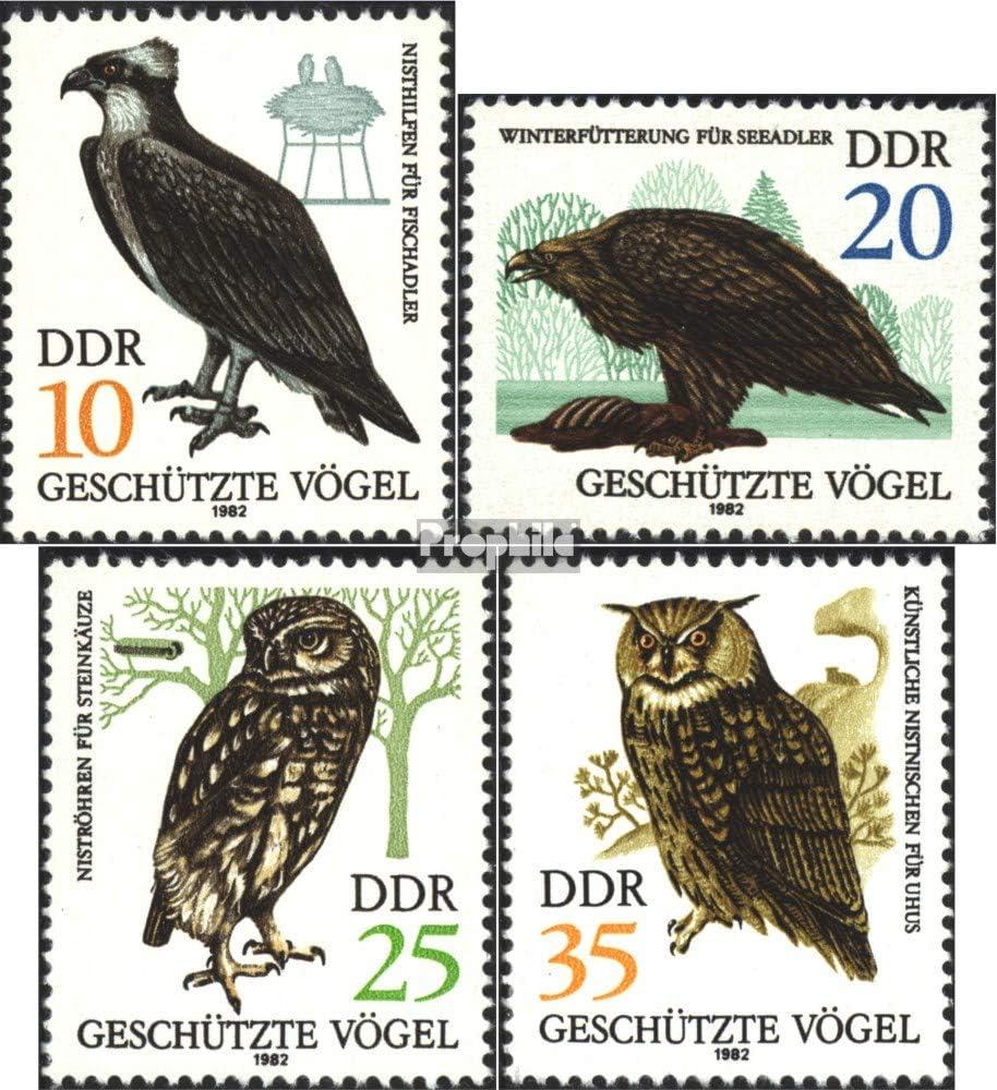 Prophila Collection DDR (RDA) 2702-2705 (Completa.edición.) 1982 protegidas Aves de rapiña (Sellos para los coleccionistas) Aves: Amazon.es: Juguetes y juegos