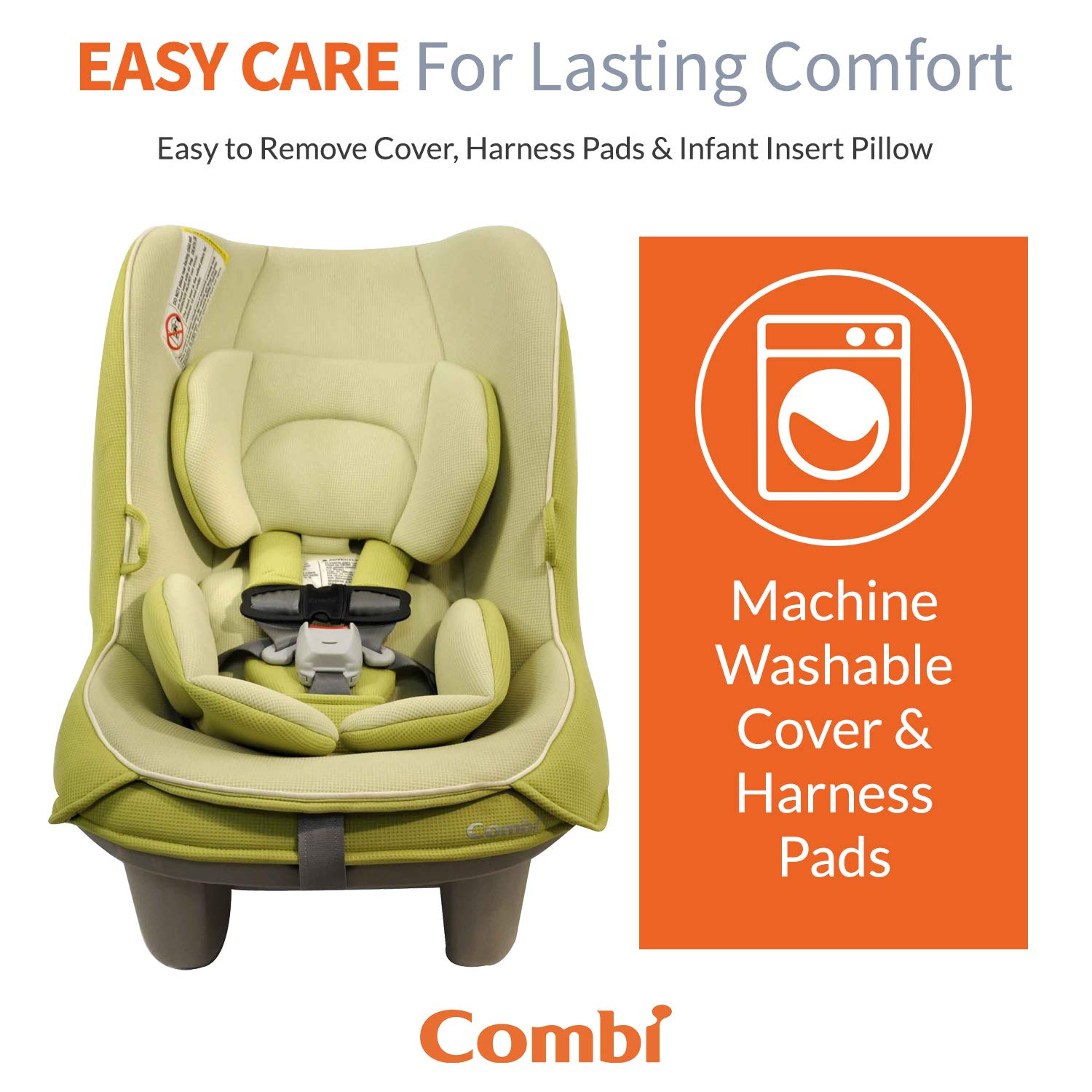 Grape Quick Install Combi Coccoro Streamlined Lightweight Convertible Car Seat 50/% Lighter Than Other Leading Brands Tru-Safe Impact Protection 3 Across In Most Vehicles Ideal for Compacts