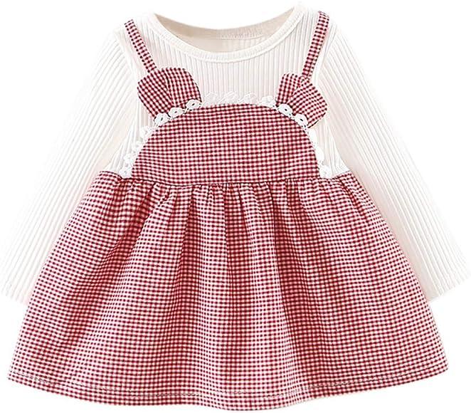 ASHOP Vestidos niña 6 años Faldas Tutus Vestido Casual Verano ...