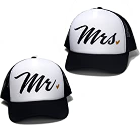 eacb48bb DONGKING Premium Quality Mr Mrs Lover Trucker Cap
