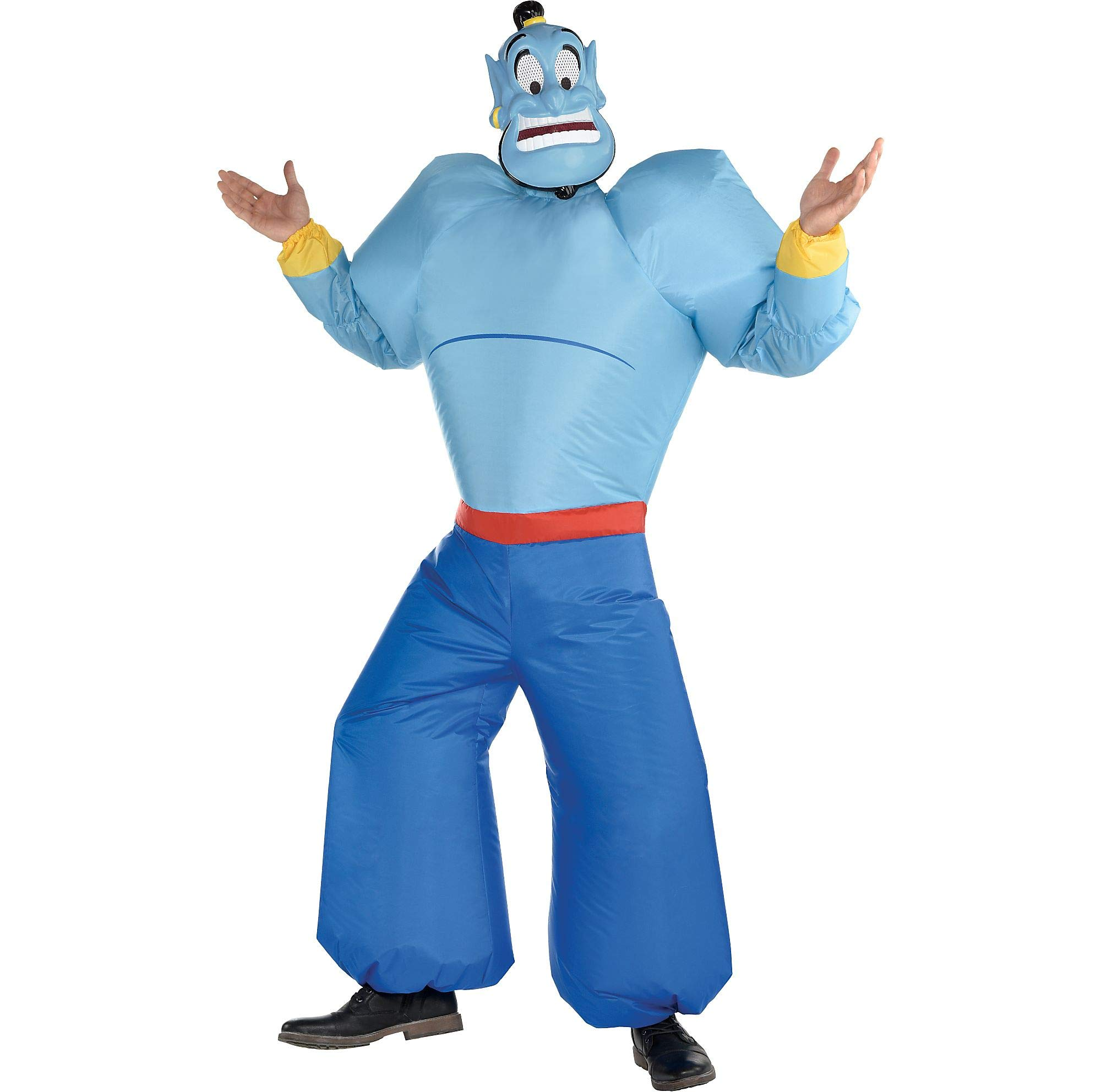SUIT YOURSELF Inflatable Genie Halloween Costume for Adults, Aladdin, Standard, with Accessories