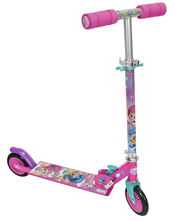Amazon.com: Shimmer and Shine 2669 2 Wheels Scooter: Toys ...