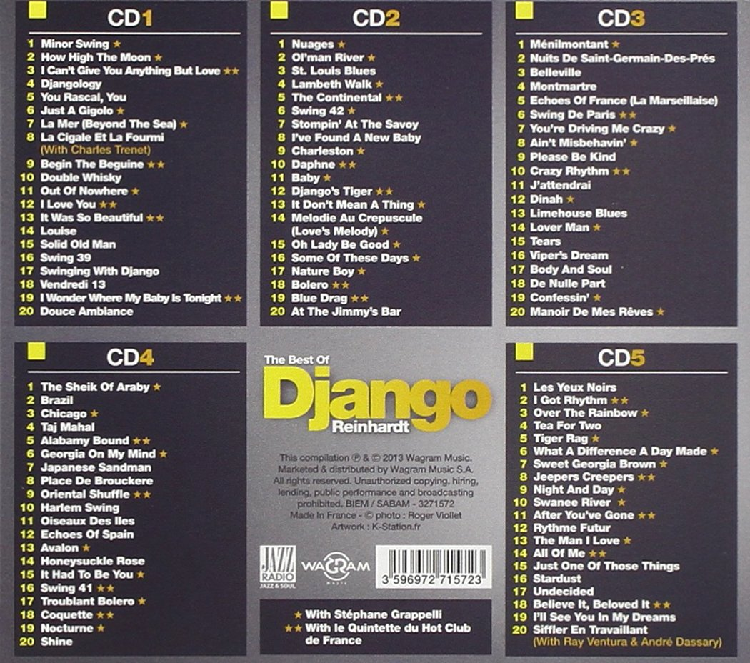 DJANGO REINHARDT - Best Of - Amazon.com Music
