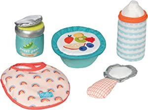 "Manhattan Toy Stella Collection Baby Doll Feeding Set for 12"" and 15"" Dolls"