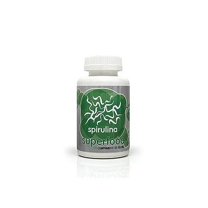 Espirulina ECO 500 mg Energy Fruits, 120 comprimidos