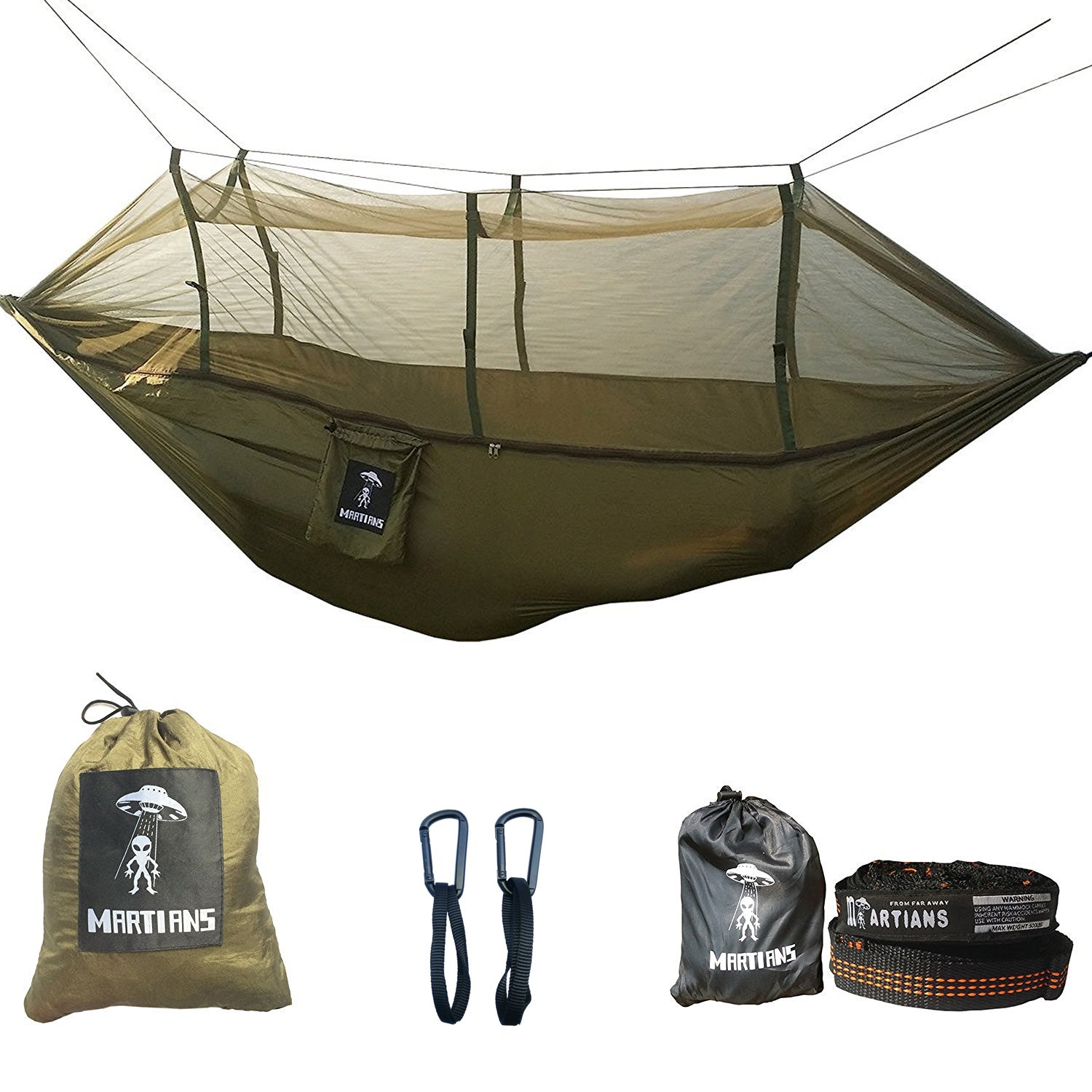 Lightweight Parachute Backpacking Yard Easy Setup Supports Image 1
