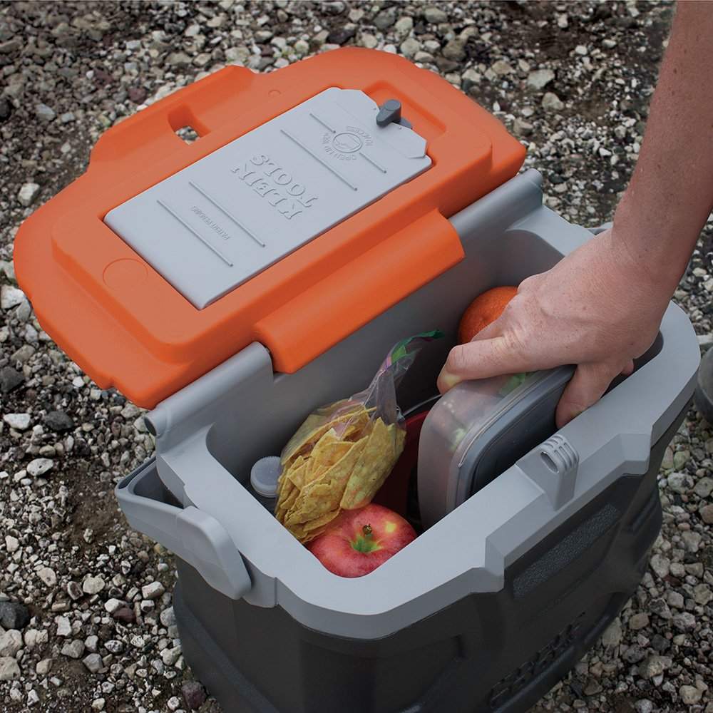 Lunch Box, Insulated Cooler Tote Has 9-Quart Capacity and Seats up to 300 Pounds Klein Tools 55625 by Klein Tools (Image #10)