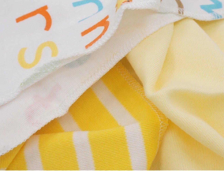 CuteOn 4 PCS Reutilizable Recién nacido Bebé Trapo Alimentación Limpiar Paño Mini Bebé Toallas para Sensible Piel 11.02