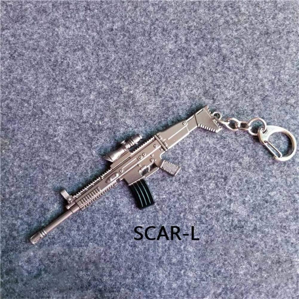KJHKJH Pistolas Arma Llavero Retro AWM Rifle Revólver Tanque ...