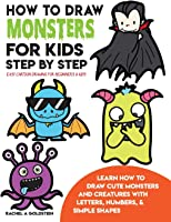 How To Draw Monsters For Kids Step By Step Easy