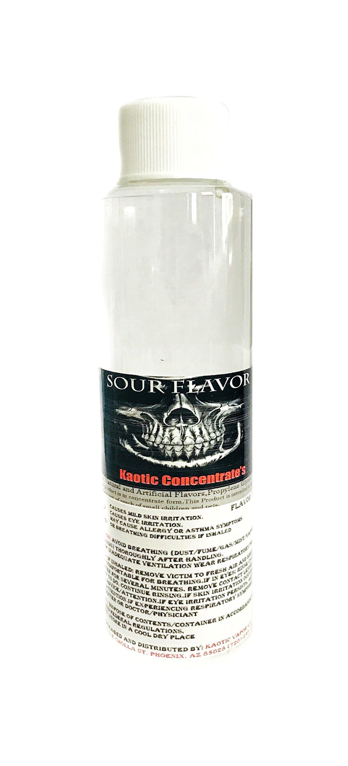 Kaotic Flavor Concentrate's, Food Grade, USA 4 oz Bottle (Sour Flavor)