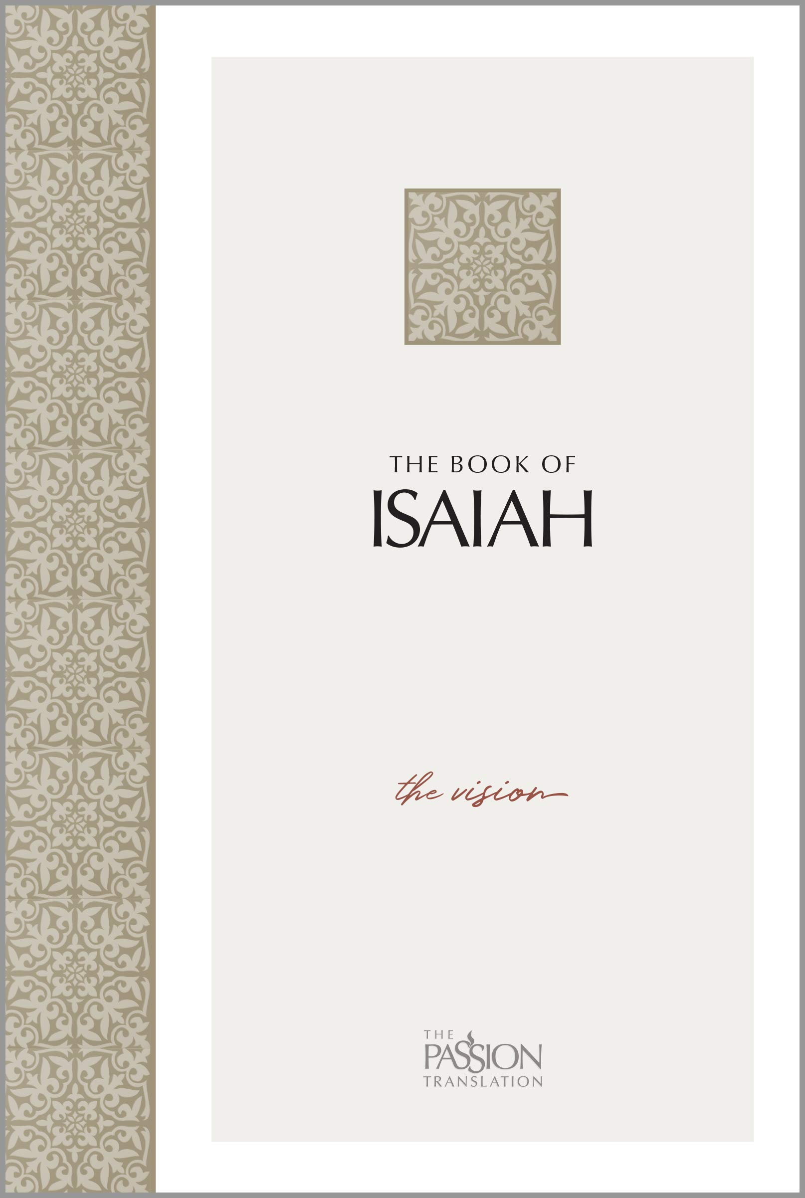 Book Isaiah Vision Passion Translation product image