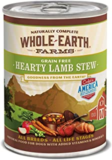 product image for Whole Earth Farms Grain Free All Breed All Life Stages Canned Wet Dog Food (Case of 12)