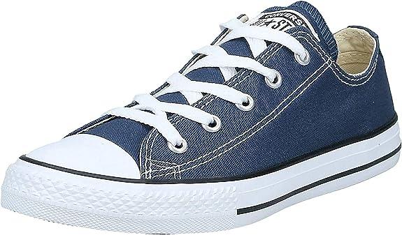 Converse Taylor All Star Youth Ox 3j2, Baskets Basses Mixte Enfant