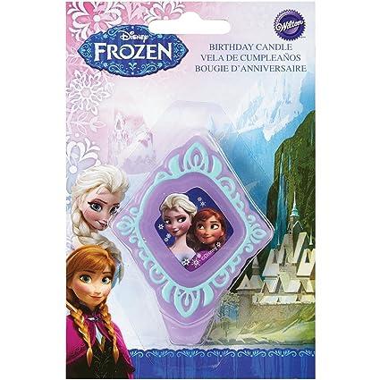 Wilton Disney Frozen Licensed Birthday Candle