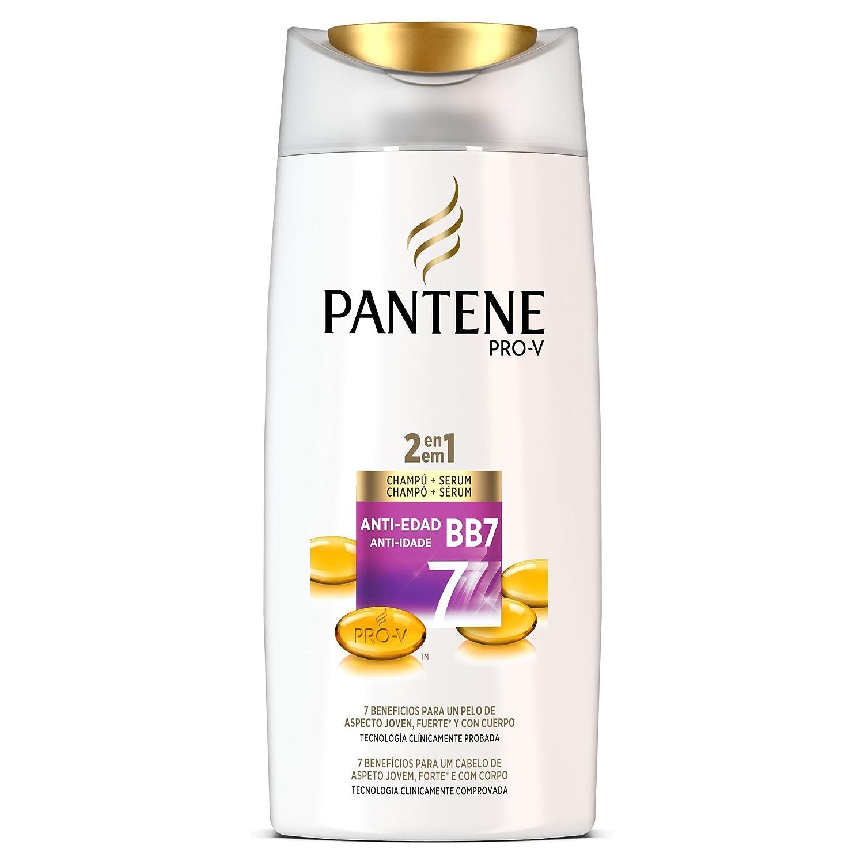 Pantene 2 en 1 Anti-Edad BB7 Champú y Acondicionador para CabelloMaduro - 675 ml: Amazon.es: Amazon Pantry