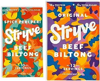 product image for Stryve Beef Biltong Spicy Peri Peri 10oz and Original 12oz