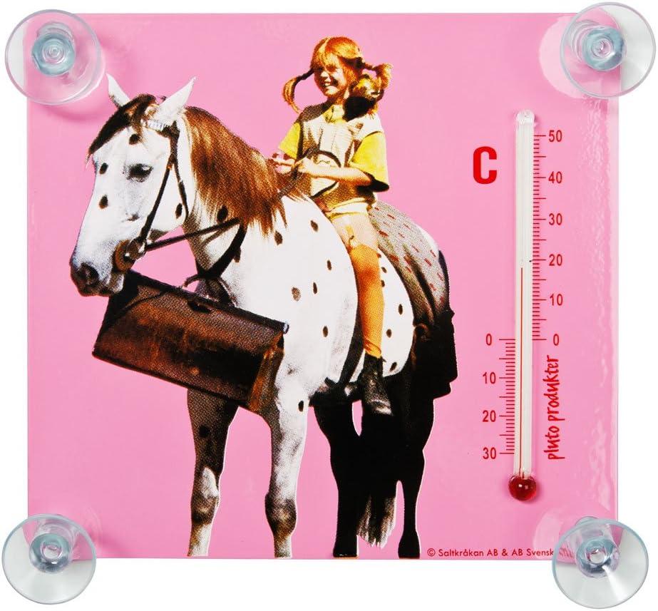 Pluto Termómetro Pippi con caballo