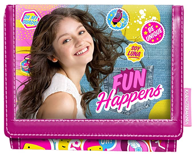 Karactermania 93621 Soy Luna Fun Happens Monedero, 12 cm, Morado: Amazon.es: Equipaje