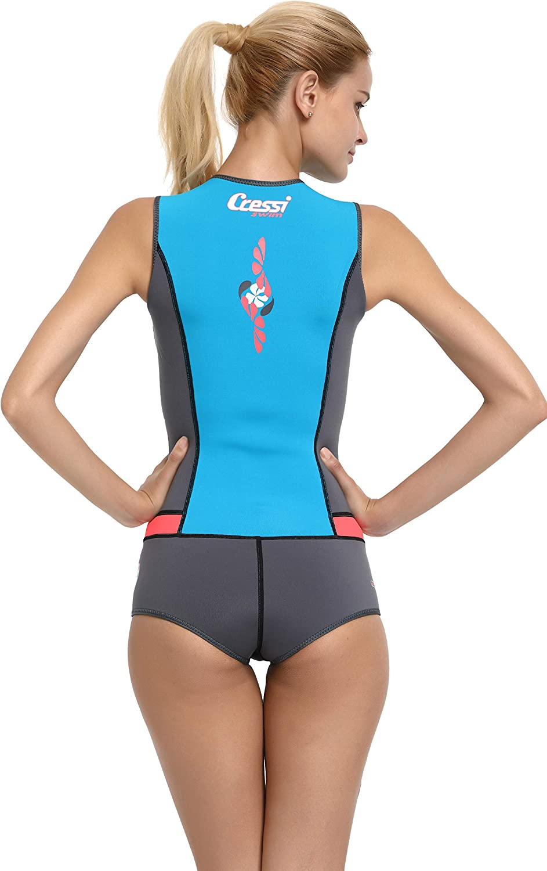Cressi Idra Swimsuit Traje de ba/ño de Neopreno 2 mm para Mujer