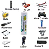 GEILIENERGY Solar Light Batteries AA NiCd 1.2V