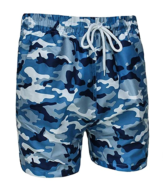 85f5ca4be8 Evoga Costume da Bagno Uomo Militare Mimetico Camouflage Pantaloncino  Shorts Bermuda Mare: Amazon.it: Abbigliamento