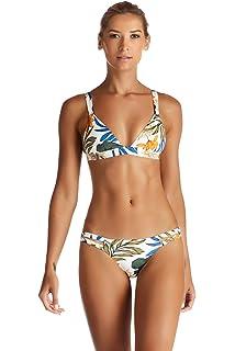e6e558aecc061f Amazon.com  Vitamin A Women s Honey Ecolux Mia Bralette Bikini Top ...