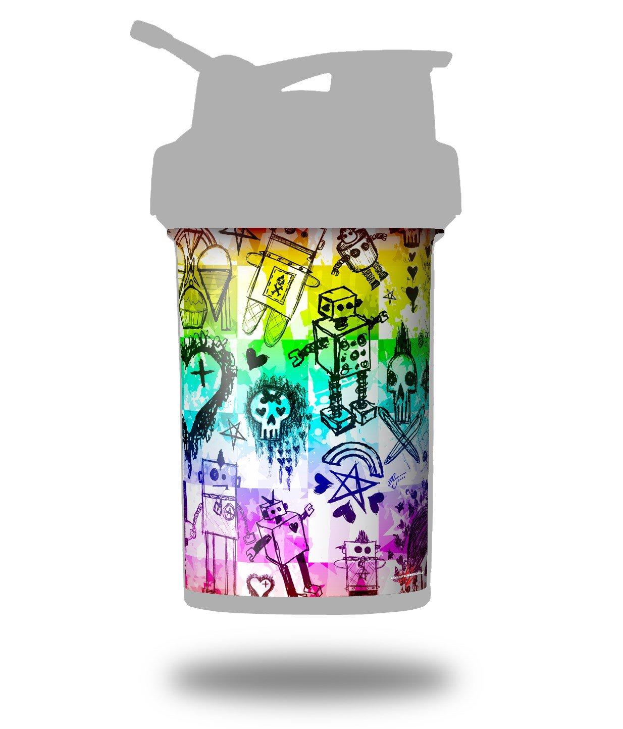 Escena Kid bocetos Rainbow - para estilo Skin Wrap para licuadora ...