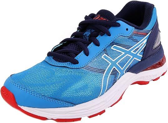 Asics Laufschuhe Gel-Nimbus 19 GS Diva Blue-White-Indigo Blue (C706N-4301) 37 Blau: Amazon.es: Zapatos y complementos