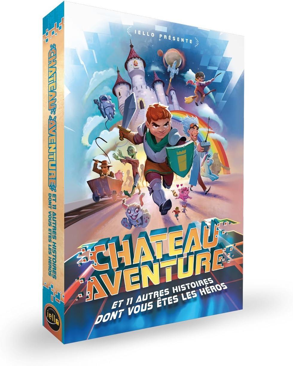 IELLO Château Aventure Jeu de Mystères (22732): Amazon.es: Juguetes y juegos