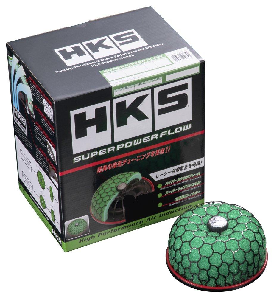 HKS スーパーパワーフロー(エアクリーナー) ムーヴ GF-, LA- L902S JB-DET 98/10-02/10 ターボ用 70019-AD102 70019-AD102 B01N4TSZI7
