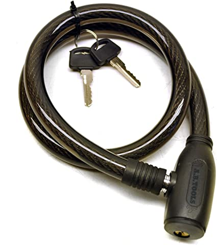 18 mm x 90 cm Câble Antivol de vélo BS77073 DEL clés de niveau 7 Sécurité