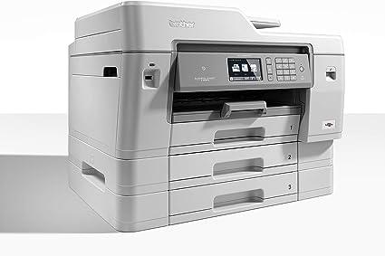 Brother MFC-J6947DW Multifuncional Inyección de Tinta 4800 x 1200 dpi A3 WiFi - Impresora multifunción (Inyección de Tinta, 4800 x 1200 dpi, 250 Hojas, A3, Impresión Directa, Gris, Blanco): Amazon.es: Informática