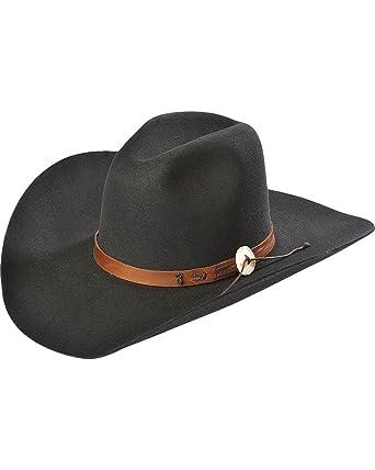 aa7162b3c0847 Stetson Men s 4X Tall Tale Buffalo Felt Cowboy Hat - Sbtalt-1243 at Amazon  Men s Clothing store