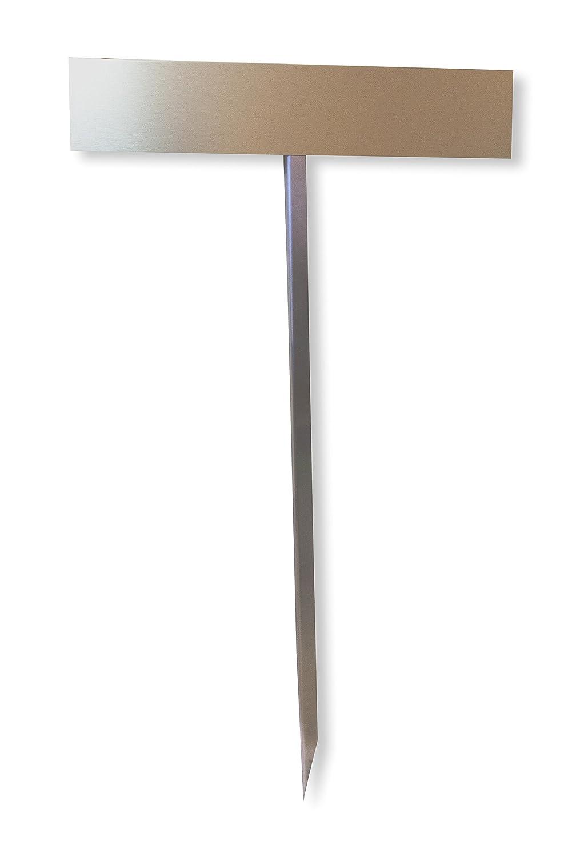 750 mm feuerverzinkt zum Einbetonieren Parkplatzschild Einschlagpfosten Nummernschild-Befestigung