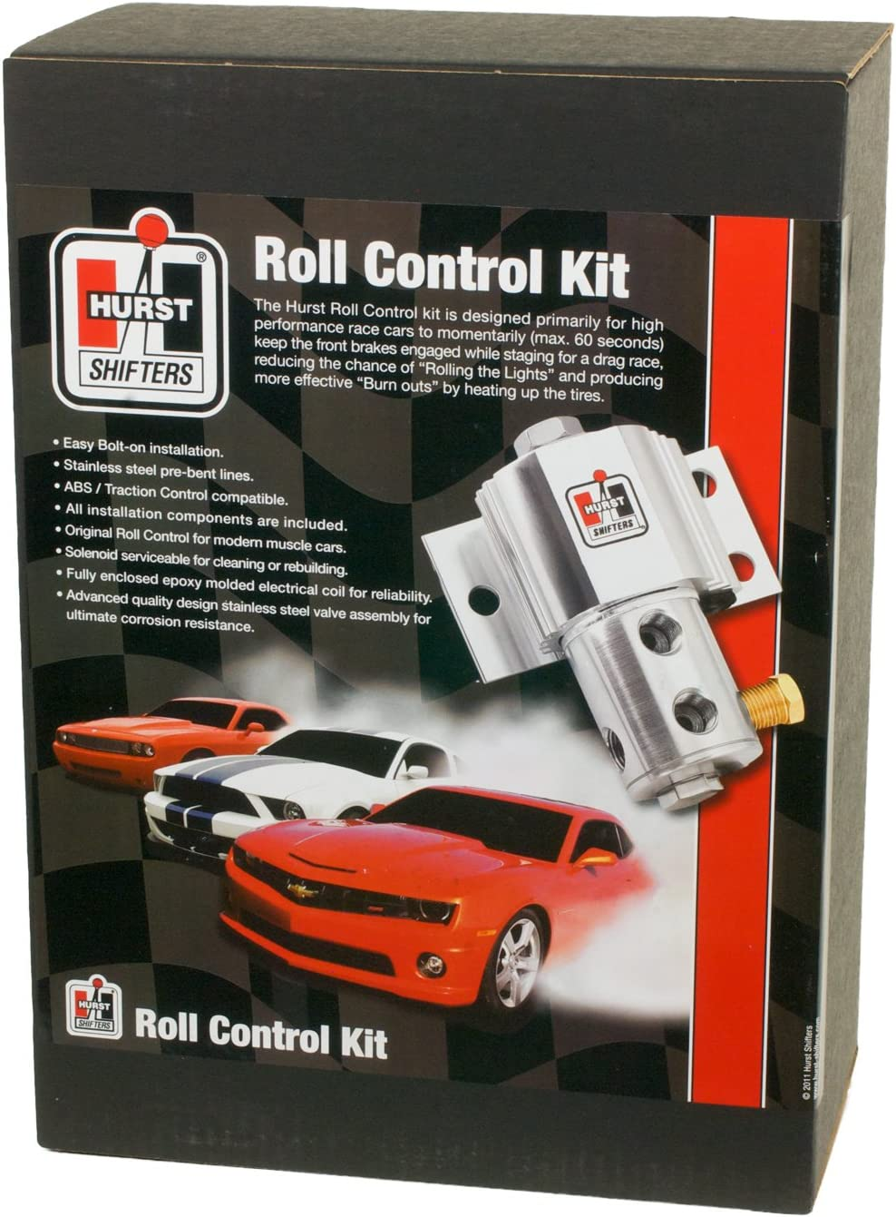 amazon com hurst 5671521 line lock roll control for ford mustang automotive hurst 5671521 line lock roll control for ford mustang