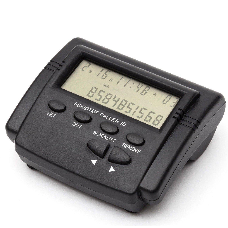 Telpal Landline Call Blocker For Phones With Mt8870 Dtmf Telephone Dial Tone Decoder Circuit Diagram Nonstopfree Caller Id Display Dual Signal Fsk 1500 Number Capacity Block Hidden Numbers