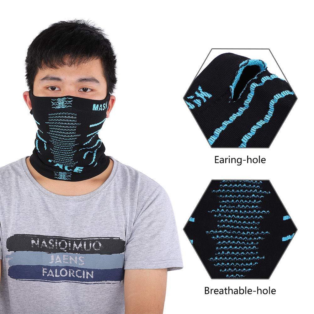 Ottimo sostituto per la maschera anti-smog Lekko N95 Scalda collo anti-inquinamento scialle Bandana con filtro sostituibile
