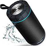 COMISO Bluetooth Speaker Waterproof IPX7 (Upgrade) 25W Wireless Portable Loud Surround Sound Strong Bass Stereo Pairing 36 Ho