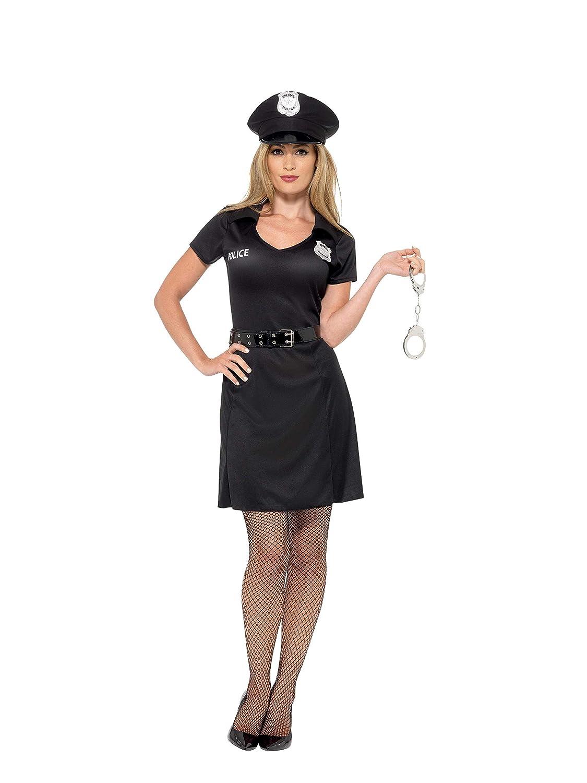 Smiffys Smiffys-45505M Disfraz de policía de Reserva, con Vestido ...