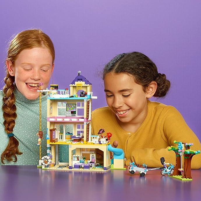 LEGO 乐高 Friends 好朋友系列 心湖城友情俱乐部 41340 积木玩具 优惠券折后$36.39史低 海淘转运到手¥338