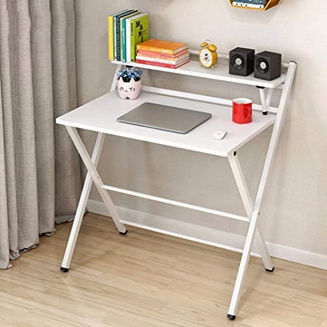 CLLCR Lazy Table- Escritorio Plegable Mesa de Estudio Plegable ...