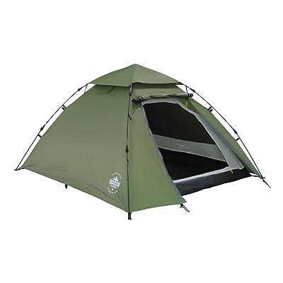 Lumaland Tente de Camping Dôme Pop-up légère 3 personnes camping festival 215 x 195 x 120 cm plusiers couleurs