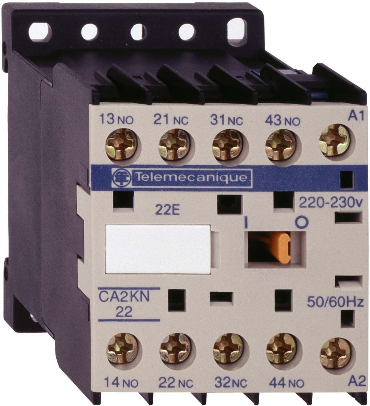 mit Schutzbeschaltung 50//60Hz Schneider CA2KN31B72 Hilfssch/ütz 24 V 3S+1/Ö