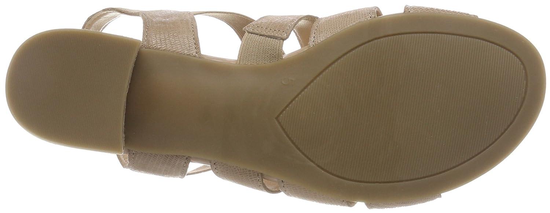 Caprice Damen (Beige 28200 Slingback Sandalen, Beige (Beige Damen Reptile 410) 7564d9