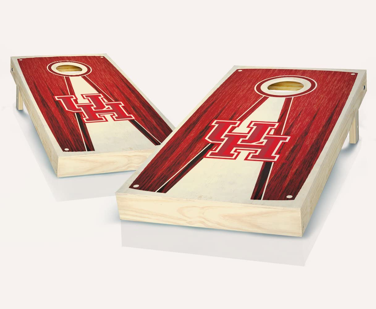 Wedding cornhole boards Baggo Slick Woodys Houston Basketball Cornhole set Bean bag toss Custom Cornhole boards
