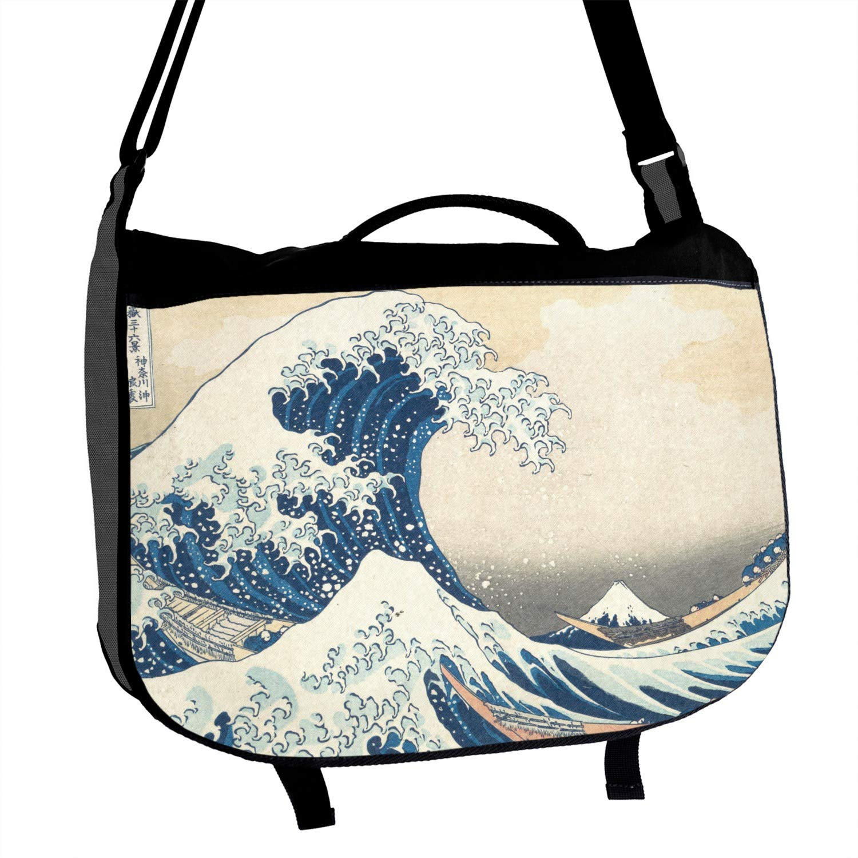 Great Wave of Kanagawa Messenger Bag