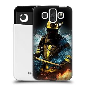 Official Jason Bullard Fireman 1 Firefighter Hard Back Case for LG AKA