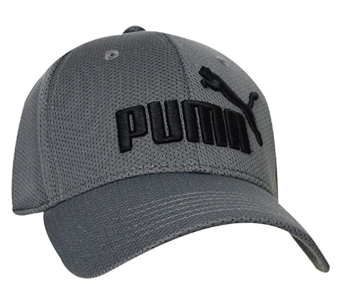new product 2ef29 87782 ... get puma evercat luke stretch fit hat medium gray size small medium  b750d 9f8ee
