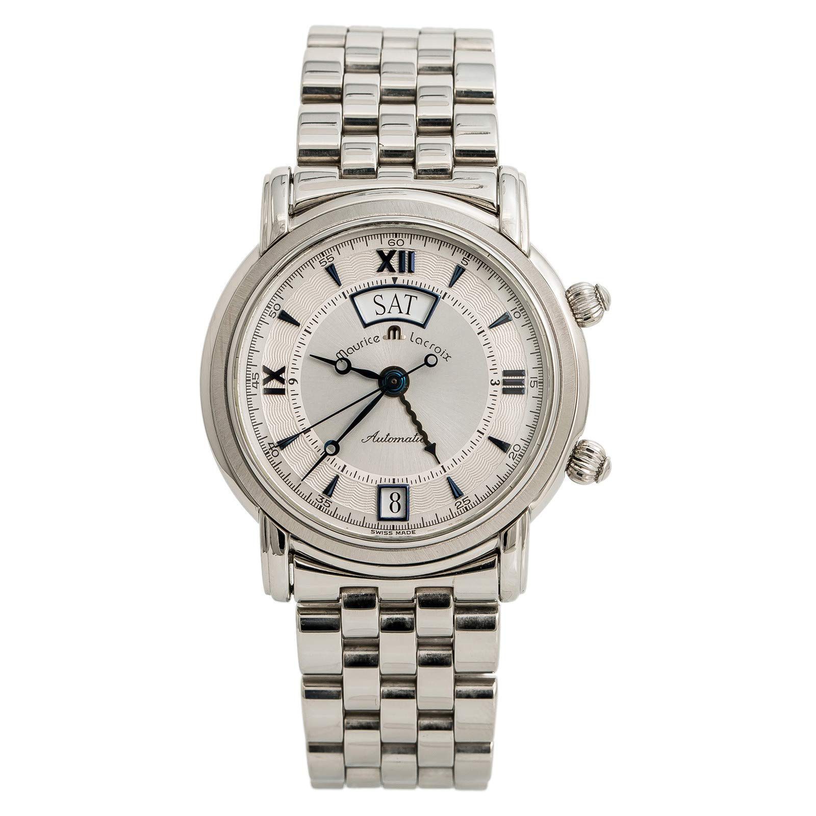 Maurice Lacroix Masterpiece Automatic-self-Wind Male Watch ML 20779-1125 (Certified Pre-Owned)